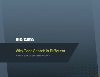 Why Tech Search is Different cover