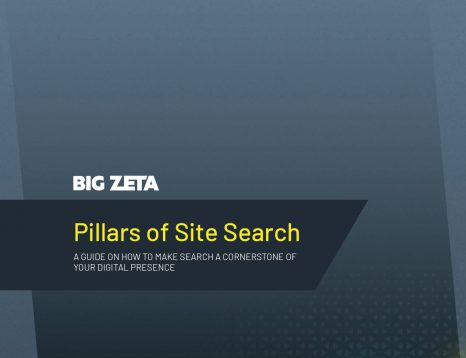 Pillars of Site Search