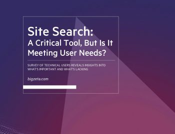 Site Search A Critical Tool But Is It Meeting User Needs cover